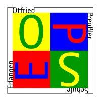 Logo der Otfried-Preußler-Schule (SFZ) Erlangen