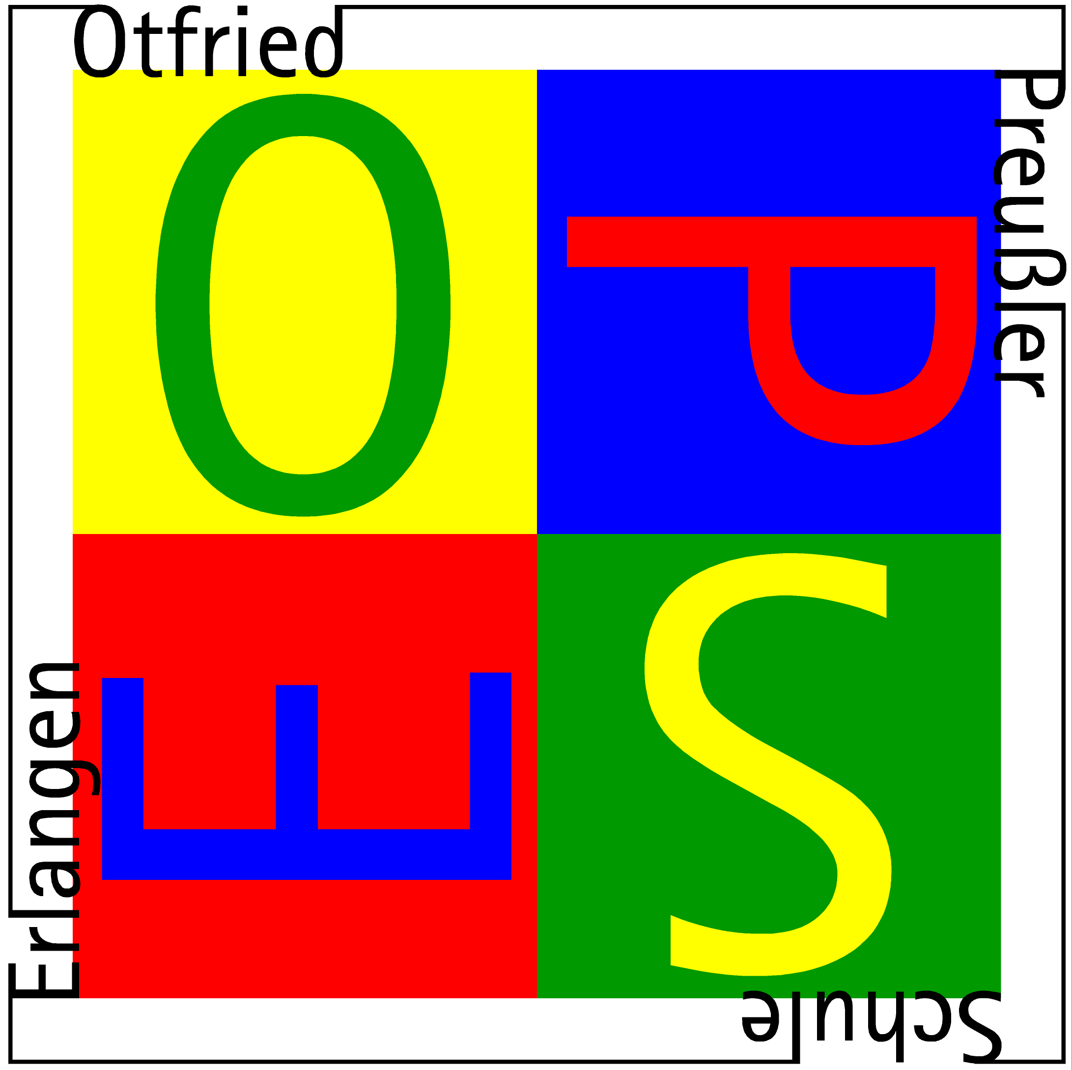 Logo der Otfried-Preußler-Schule Erlangen
